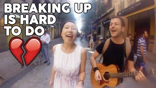 Yu&Javi @Fuencarral - Breaking up is hard to do - Neil Sedaka cover