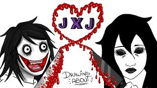 JEFF x JANE THE KILLER 🔪💘 SAN VALENTIN | Draw My Life - Creepypasta Especial Love Story