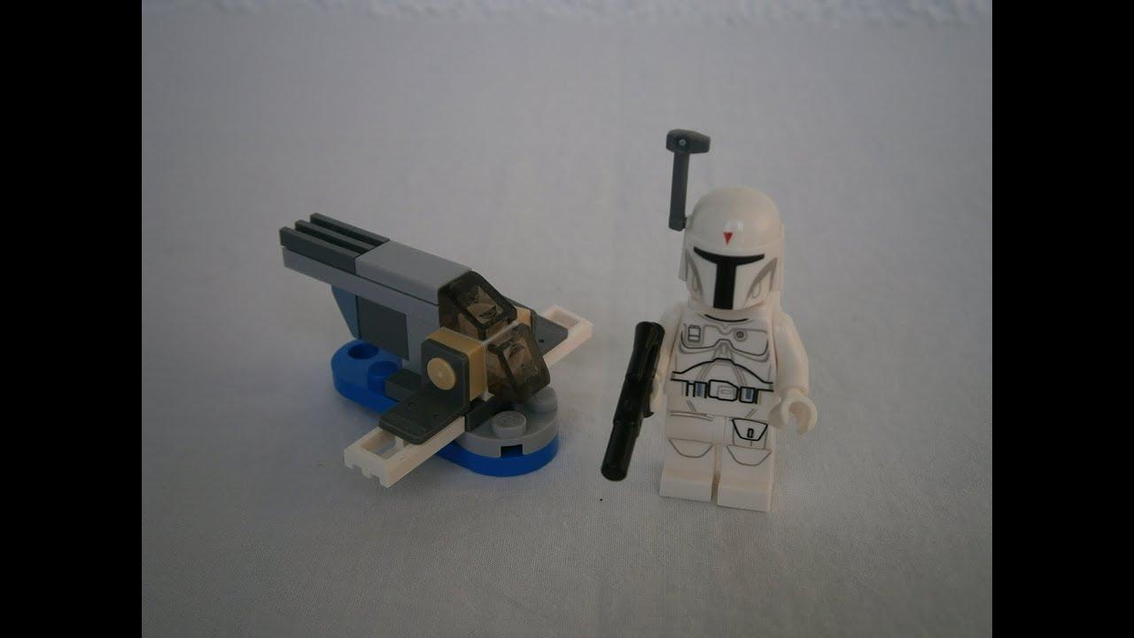 Lego Star Wars White Boba Fett Mini Slave 1 Sw Magazine No 2