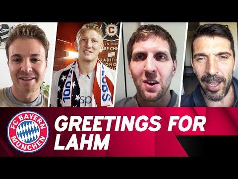 All Philipp Lahm Retirement Greetings | #DankePhilipp 🙏
