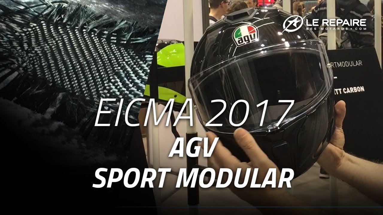 Agv Sport Modular Youtube