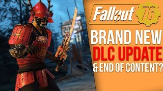 Fallout 76 News - New Halloween DLC Update, The End of Content?, Post-Fallout 1st