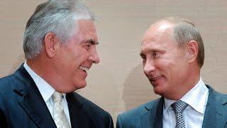 Trump's Secretary of State pick, Rex Tillerson, has personal relationship with Vladimir Putin