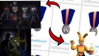Como ganhar as medalias de the beginning of fazbear ent -roblox-