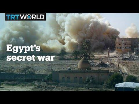Egypt's secret war in Sinai
