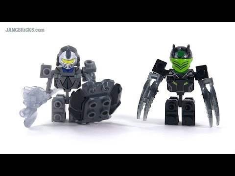 Ionix Tenkai Knights Granox & Slyger figures reviewed! sets 10012 & 10010