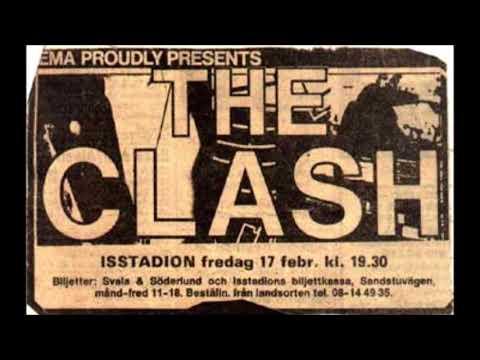 The Clash  -  Live In Stockholm Sweden 1984  (FULL CONCERT)