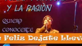quiero concerte - tommy portugal y la pasion(LETRA)