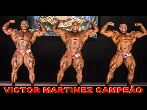2017 IFBB Muscle Mayhem pro, Victor Martinez campeão