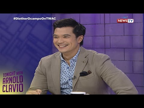 Tonight with Arnold Clavio: Diether Ocampo's first appearance on TWAC
