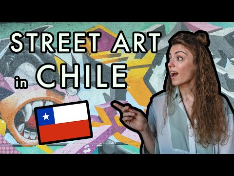 STREET ART in SANTIAGO, Chile | Graffiti Art Trip | Contemporary art in South America w/ Culturush