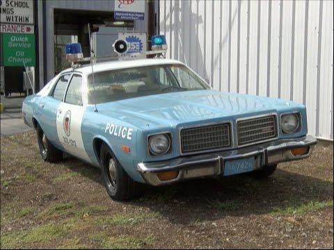 APD Restores 1975 Dodge Coronet Police Cruiser