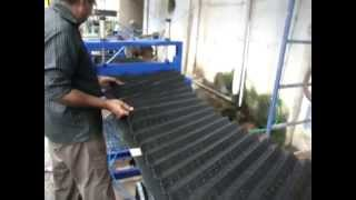 cooling tower fill forming machine