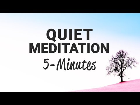 Clear Your Mind and Expand Your Awareness | 5-Minute Quiet Meditation