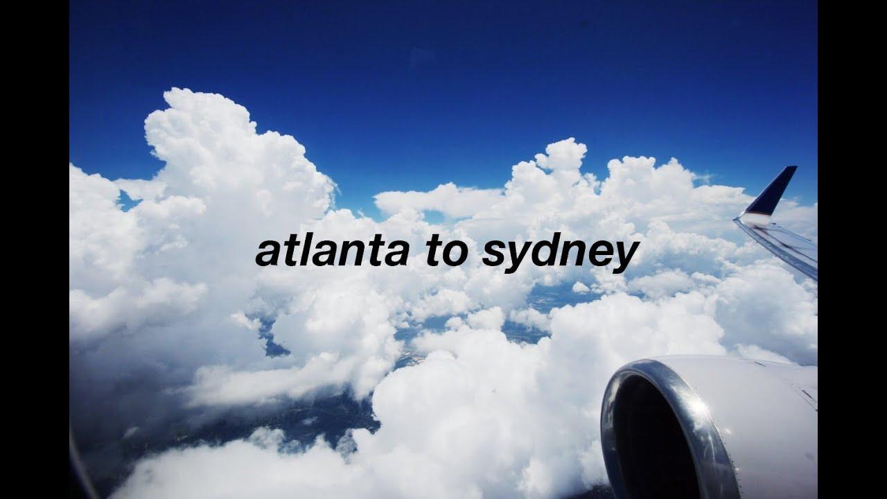 Atlanta Georgia To Sydney Australia