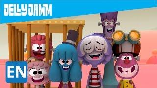 Halloween. Jelly Jamm cartoons: The Monster of boredom