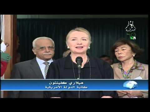 Sec visit to Algeria 10.29.2012 Tv News