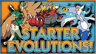 STARTER EVOLUTIONS CONFIRMED?!? ROWLET LITTEN POPPLIO EVOLUTIONS POKEMON SUN AND MOON LEAKS!