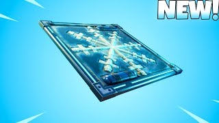 * NEU * FREEZE TRAP ITEM GAMEPLAY! Fortnite Battle Royale
