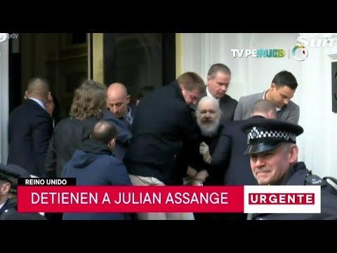 Download Ecuador revoca asilo a Julian Assange y Policía británica lo detiene