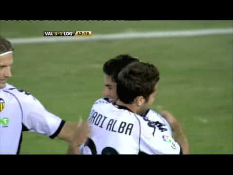 2010.11.11: Valencia CF 3 - 1 UD Logroñes (Isco)