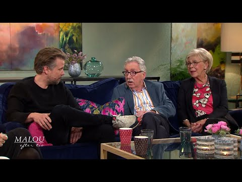 Filip Hammar om succén med filmen Tårtgeneralen - Malou Efter tio (TV4)