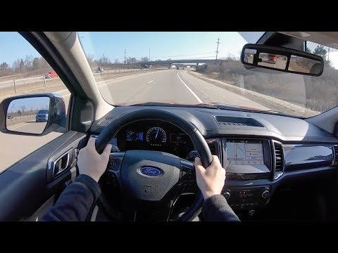 2019 Ford Ranger Supercab 4x4 Lariat 6' Box - POV Test Drive