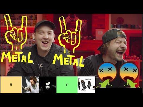 The Best Metal Genres (Tier List)!