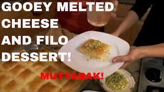 Muttabak Best Decadent & Delicious Middle Eastern  Dessert! Feast In The Middle East:episode  9