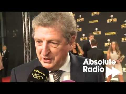 England Manager Roy Hodgson at BBC Sports Personality of the Year Awards