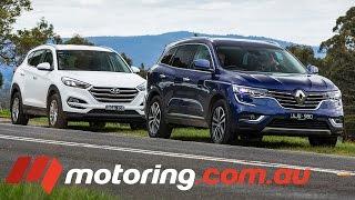 Renault Koleos VS Hyundai Tucson 2016 Review