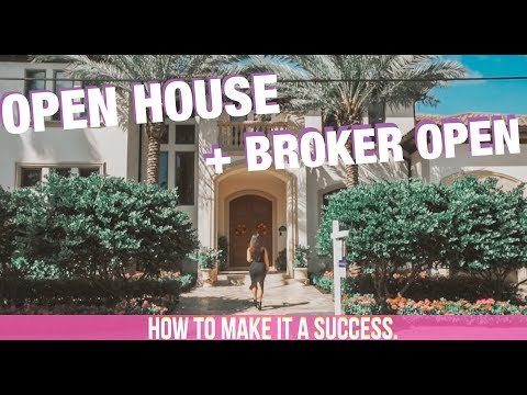 How To Host A Successful Open House And Broker's Open In Real Estate