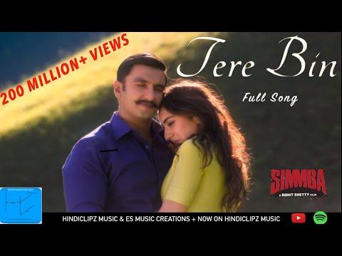SIMMBA: Tere Bin Full Song   Ranveer & Sara   Rahat Fateh Ali Khan, Asees Kaur & Tansihk Bagchi