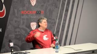 WSU Head Football Coach Mike Leach tells his favorite Halloween tale