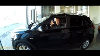 Первые покупатели Hyundai Creta в автосалоне Нижегородец