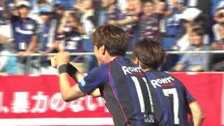 鋭い切り返しでPA内に侵入したファン ウィジョ(G大阪)が自身へのリタ...