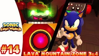 Sonic Lost World (Wii U) - Part 14 Lava Mountain Zone 3&4