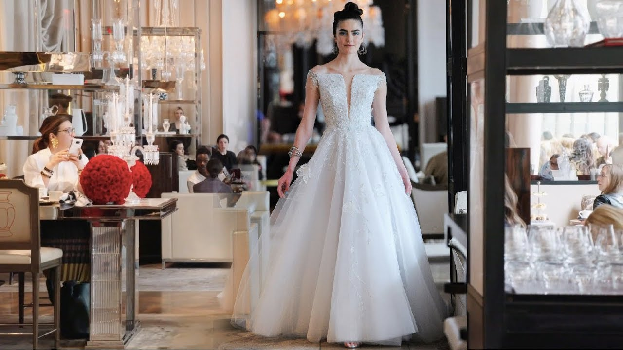b85376ca3916 Ines Di Santo Bridal Spring 2020 - YouTube