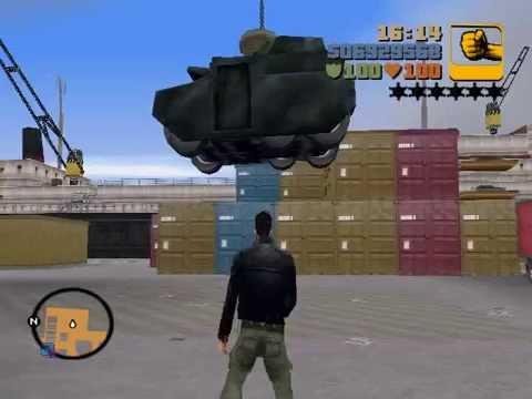 Grand Theft Auto III - Importacion/Exportacion - Portland Harbor (Grua)