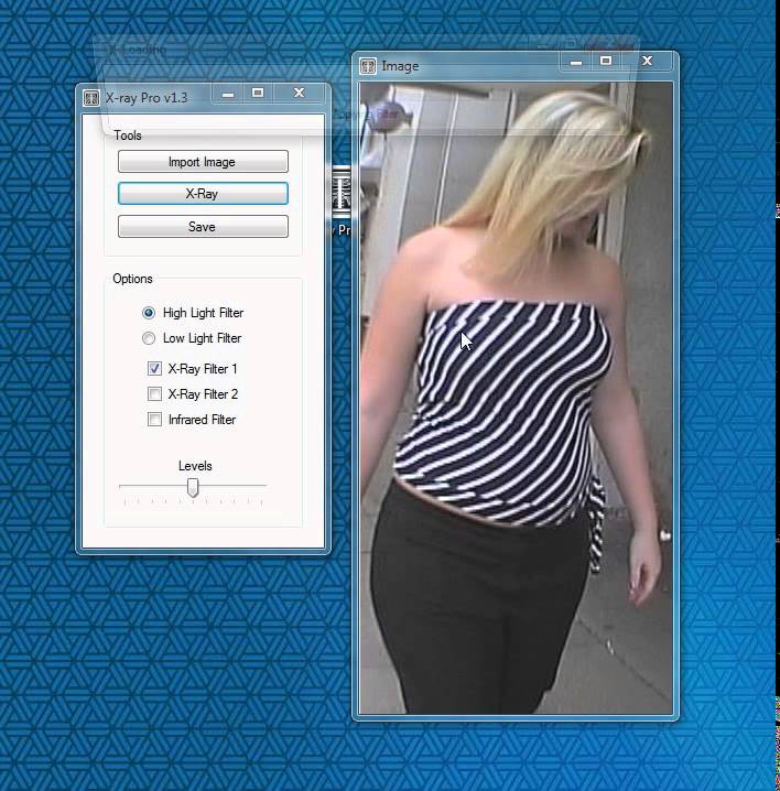X-Ray Clothes without Photoshop or Gimp - See through Clothes! by Warp Wise