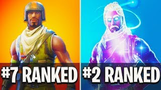 TOP 10 RAREST SKINS in Fortnite! The #1 SKIN 0% of PLAYERS HAVE! (Fortnite Battle Royale)