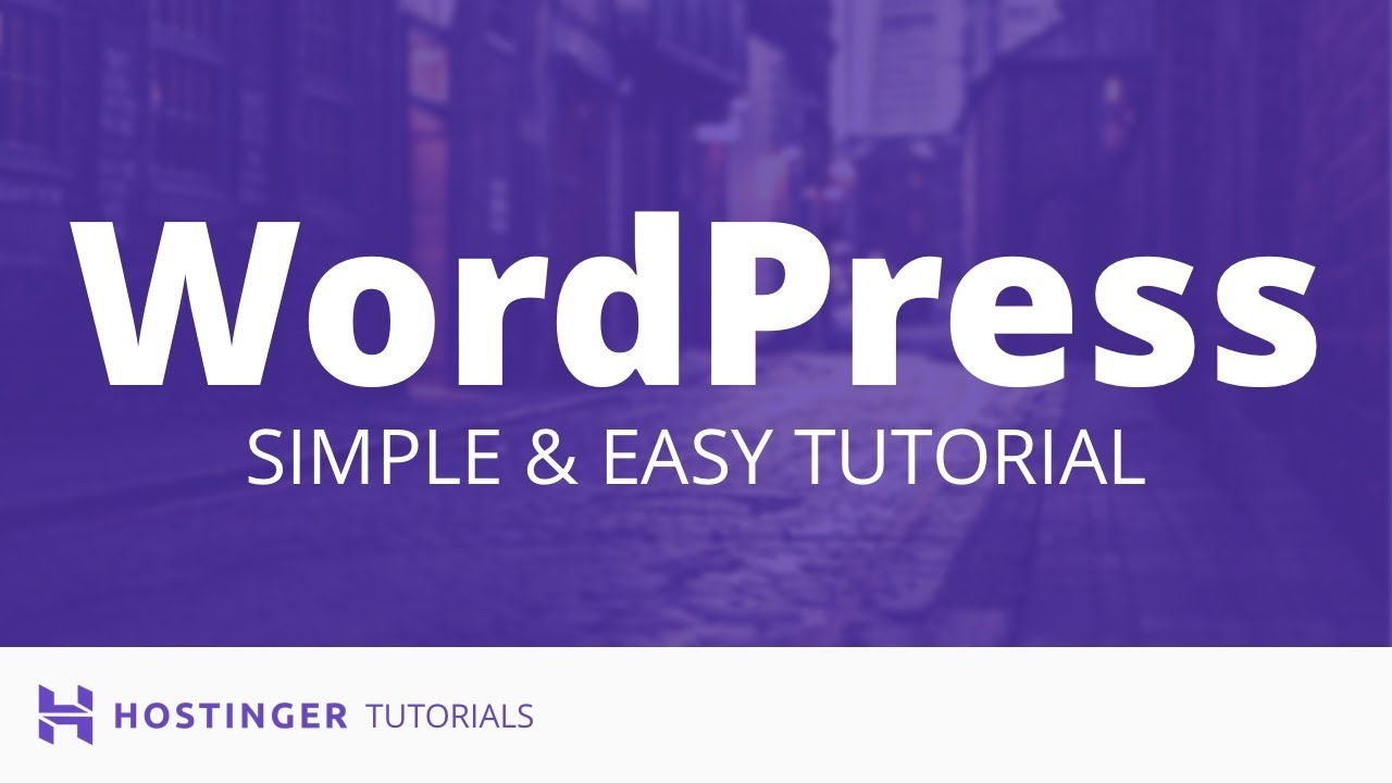 WordPress Tutorial - WordPress Guide For Beginners (2019)