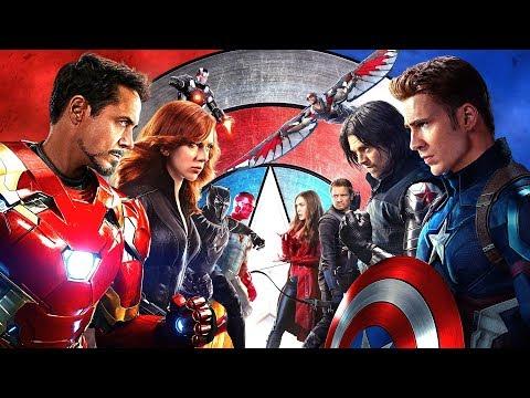 הסודות של מארוול - קפטן אמריקה: מלחמת האזרחים