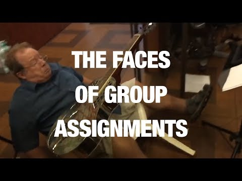 Common Reactions to Group Assignments