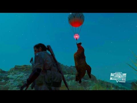Metal Gear Solid 5 Phantom Pain - Fulton Extraction Fun