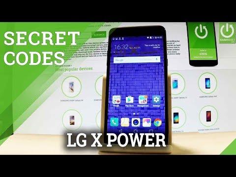 Codes in LG X Power - Advanced Settings / Tips / Tricks