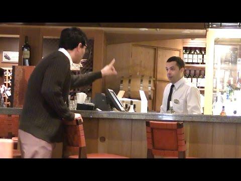 Pranking Bartenders On A Cruise Ship  Doovi