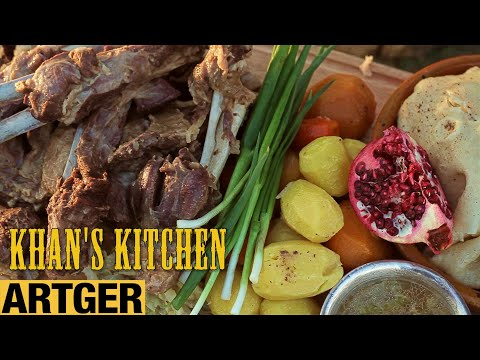 The King's Secret Recipe for Mutton with Pomegranate | Khan's Kitchen