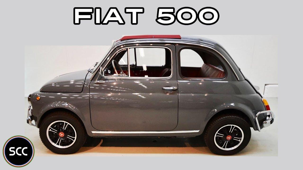 Fiat Nuova 500 Giannini 1970 Cinquecento Classic Topolino Test Drive Engine Sound Scc Tv