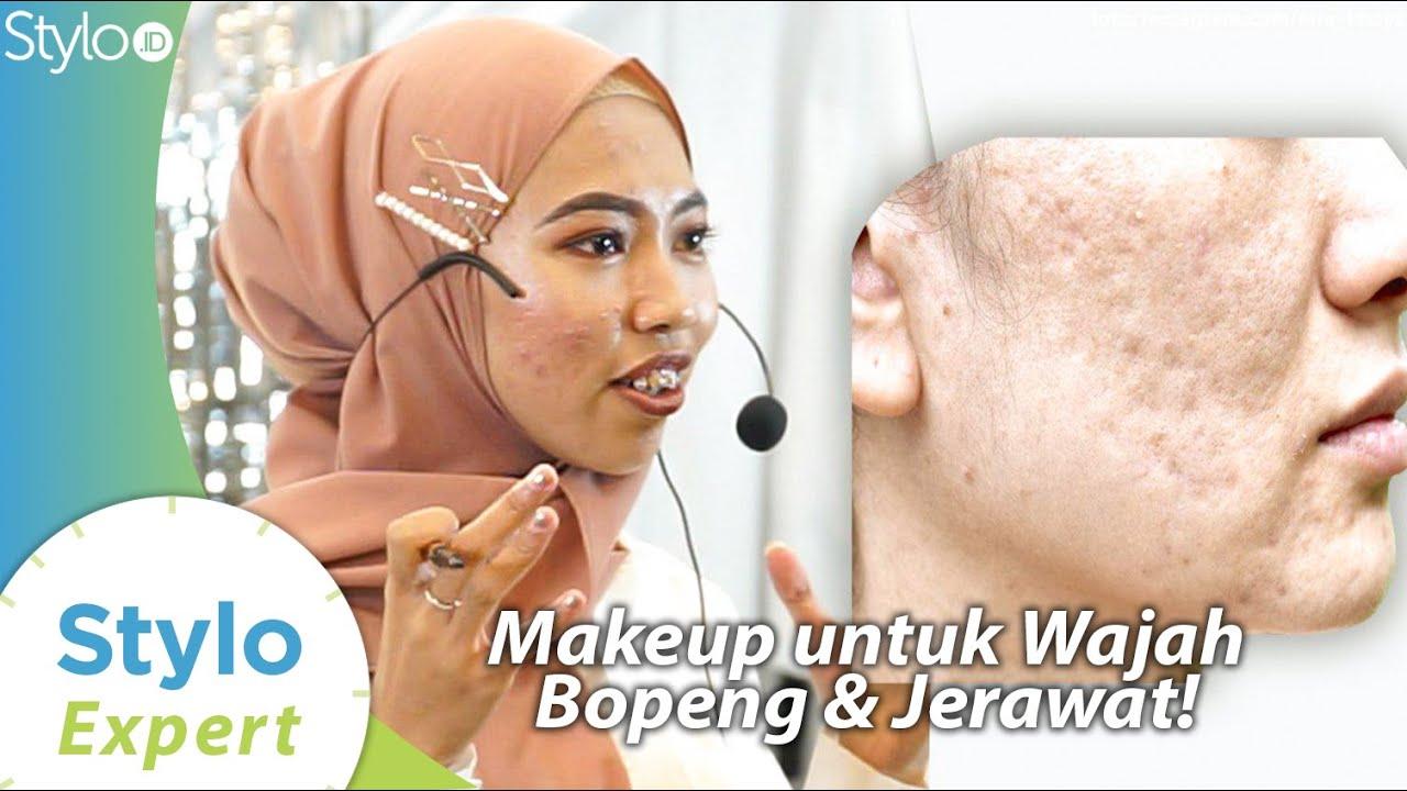 Cara Menutupi Bopeng Jerawat Dengan Make Up
